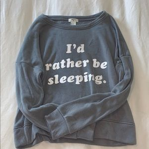 Forever 21 pullover pajama top